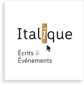 Italique  Ecrits & Evénements